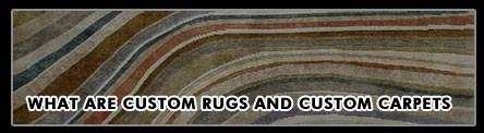 Custom rugs custom carpets
